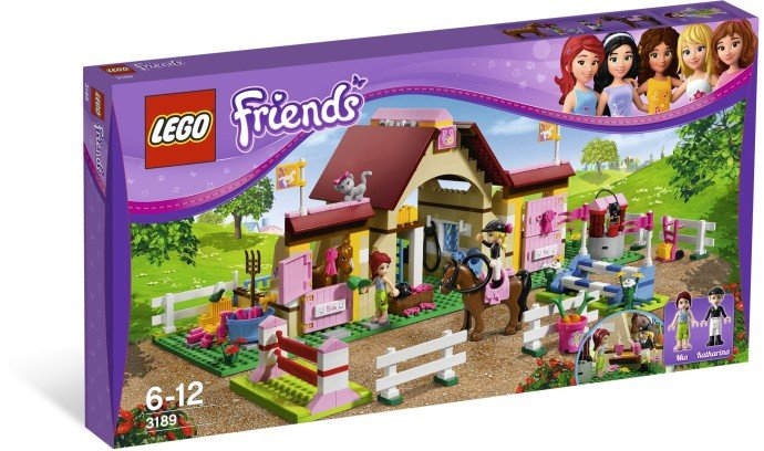 LEGO FRIENDS Stáje v Heartlake