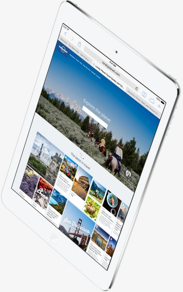 iPad Air 128GB 3G/LTE Silver