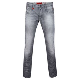 Replay Anbass Distressed Slim